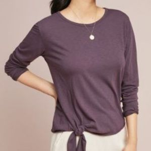 💜NEW💜NWT Anthropologie (Sundry) Knotted Pullover